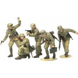 Infantería alemana África Corps. TAMIYA 35314