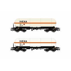 Set de vagones cisterna Zags, IVEXA.