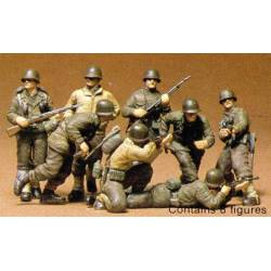 Infantería USA en Europa. WWII. TAMIYA 35048
