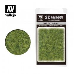 Wild tuft, jungle green (12mm).