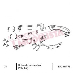 Accesories bag for RENFE 354.