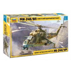 Soviet attack helicopter MI-24V/VP.