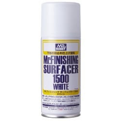 Mr Surfacer 1500, Spray. White.