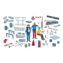 Truck shop accessories.
