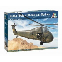 H-34A Pirate/UH-34D U.S. Marines.