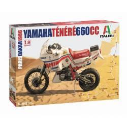 Yamaha Tenere 660cc Paris-Dakar.