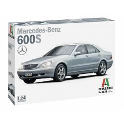 Mercedes Benz 600S.