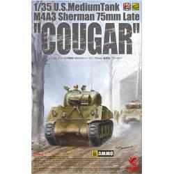 """M4A3 Sherman (75mm) """"Cougar""""."""