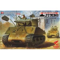 """US M4A3E2 Sherman """"Jumbo""""."""