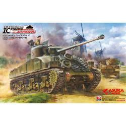"""British Sherman IC """"Firefly""""."""
