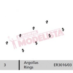 Ring set for locomitves 7200/7500 RENFE.