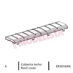 Cubierta de techo para 7200 RENFE.