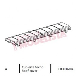 Roof cover for locomitves 7200 RENFE.