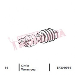 Worm gear for locomitve 7200 RENFE.