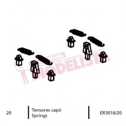 Springs for locomitve 7200 RENFE.