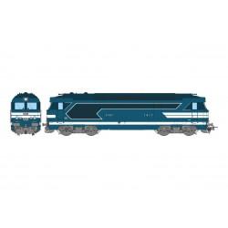 Locomotive BB 67401. Sound & steam.
