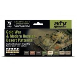 Set Model Air de camuflajes desérticos rusos.