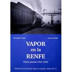 Vapor en la RENFE (1941-1949).