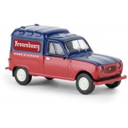 "Renault R4 fourgonnette, ""Kronenbourg""."