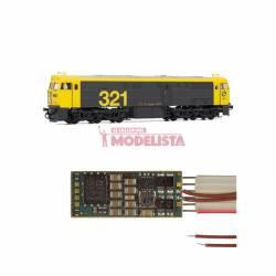 Sound decoder for RENFE 321, 6 pins. D&H