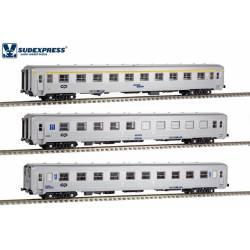 3-coaches set Sorefame, CP. 90s.