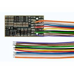 Decoder with sound, 8-pin, 1.5A.