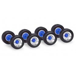 Wheel set for semitrailers (x12).