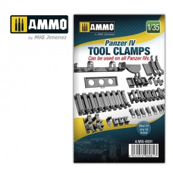 Panzer IV tool clamps.