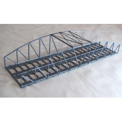 Puente de hierro, doble vía.