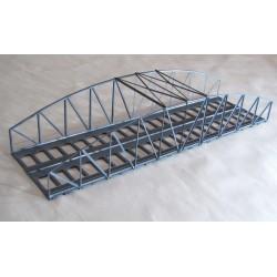 Puente metálico, doble vía.