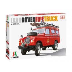 Land Rover de bomberos.