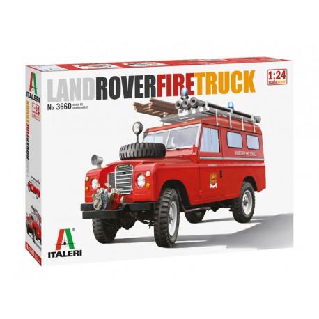 Land Rover fire truck.