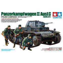 German Pz.Kpfw. Ⅱ Ausf.C. Polish Campaign (1939).