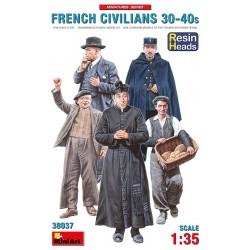 French civilians. 30s-40s.