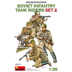 Soviet infantry tank riders. Set 2.