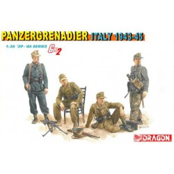 German Panzer Grenadiers, Italy 1943-45.
