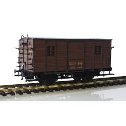 Furgón de madera DV61152, RENFE.
