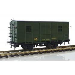 Wooden van DV61220, RENFE.