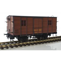 Furgón de madera DV61250, RENFE.