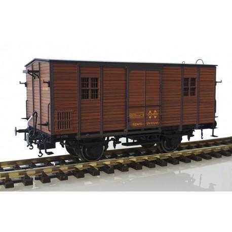Wooden van DV61250, RENFE.