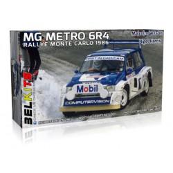 MG Metro 6R4, Rallye Monte Carlo (1986).