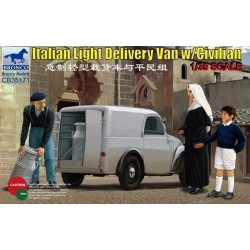 Italian delivery van w/civilian.