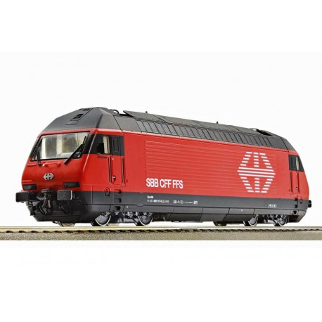 Electric locomotive Re 460 series with sound.