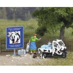 Escena rural: tranportando la leche. BUSCH 7720
