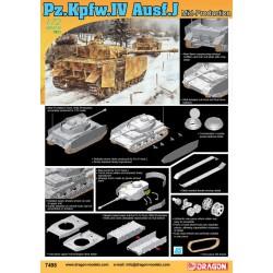 Pz.Kpfw.IV Ausf.J, producción media.