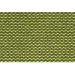 Hileras de césped, verde primavera.