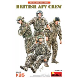 British AFV crew.