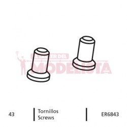 Screw for RENFE 354.