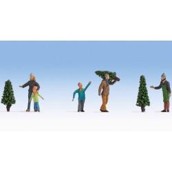 Christmas tree sale.