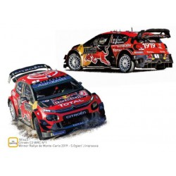 Citröen C3 WRC 2019.